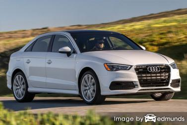 Insurance rates Audi A3 in Boston