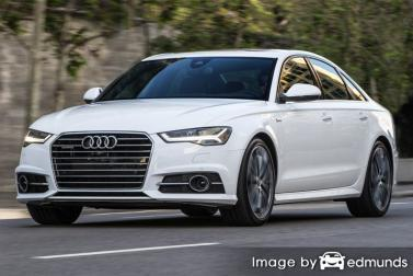 Insurance quote for Audi A6 in Boston