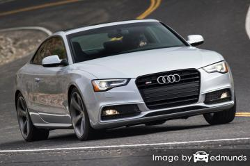 Insurance quote for Audi S5 in Boston