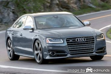 Insurance quote for Audi S8 in Boston