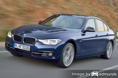 Insurance quote for BMW 328i in Boston