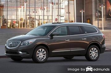 Insurance quote for Buick Enclave in Boston