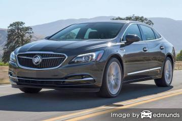Insurance quote for Buick LaCrosse in Boston