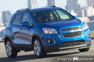 Discount Chevy Trax insurance