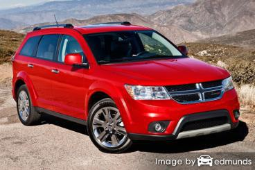 Insurance rates Dodge Journey in Boston