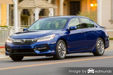 Insurance quote for Honda Accord Hybrid in Boston