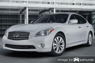 Insurance quote for Infiniti M37 in Boston