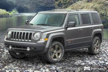 Insurance rates Jeep Patriot in Boston
