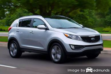 Insurance rates Kia Sportage in Boston