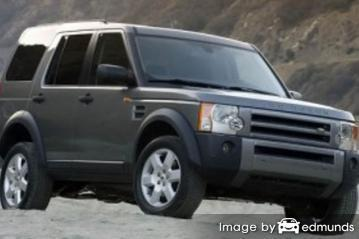 Insurance quote for Land Rover LR3 in Boston