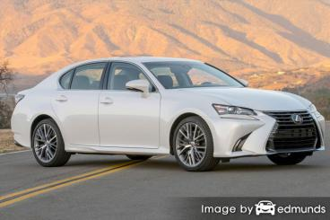 Insurance quote for Lexus GS 350 in Boston
