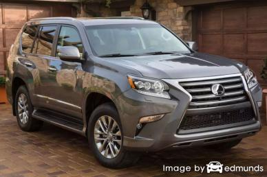 Insurance quote for Lexus GX 460 in Boston