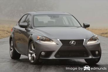 Insurance quote for Lexus IS 350 in Boston