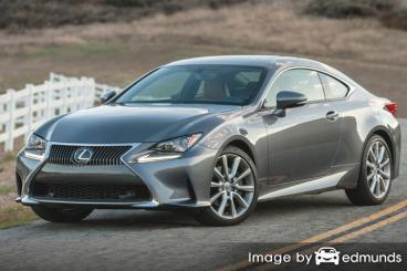 Insurance quote for Lexus RC 300 in Boston