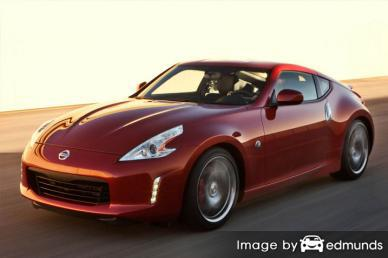 Insurance quote for Nissan 370Z in Boston