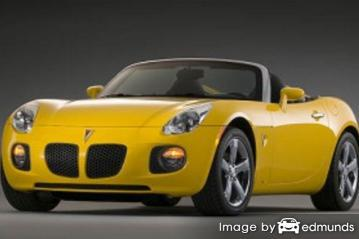 Insurance quote for Pontiac Solstice in Boston