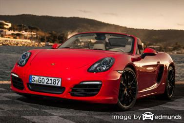 Insurance quote for Porsche Boxster in Boston