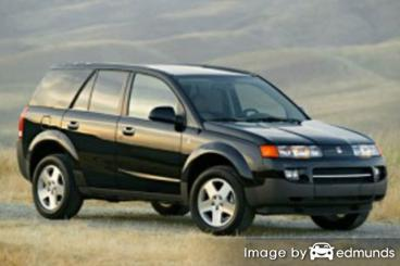 Insurance rates Saturn VUE in Boston