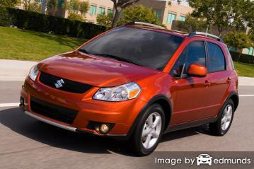 Insurance rates Suzuki SX4 in Boston
