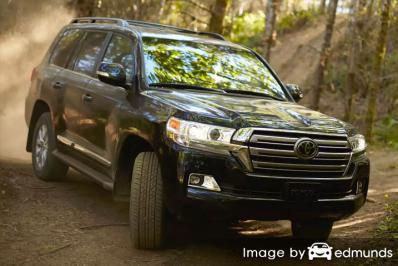 Insurance quote for Toyota Land Cruiser in Boston