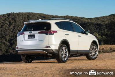 Insurance quote for Toyota Rav4 in Boston