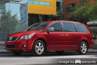 Insurance quote for Volkswagen Routan in Boston