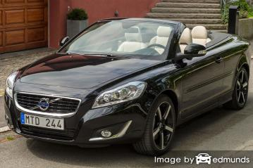 Insurance quote for Volvo C70 in Boston